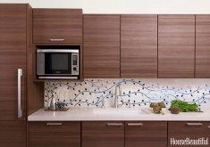 exceptional kitchen tile design #1: 50 Best Kitchen Backsplash Ideas - Tile Designs for Kitchen Backsplashes