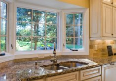 Great Kitchen Bay Windows #1: High Resolution Kitchen Bay Window #3 - Posts Related To Window Over Kitchen  Sink Ideas